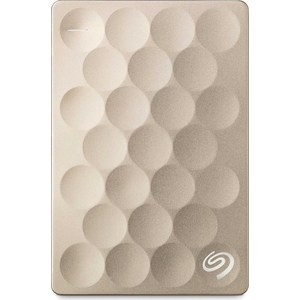 все цены на Внешний жесткий диск Seagate 2Tb STEH2000201 Ultra Slim золотистый