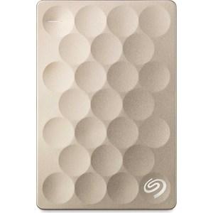Внешний жесткий диск Seagate 2Tb STEH2000201 Ultra Slim золотистый внешний жесткий диск lacie 9000304 silver