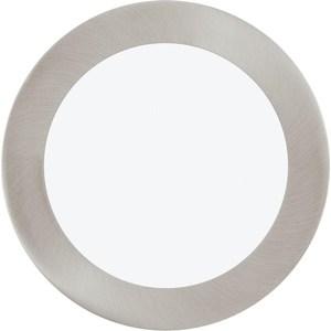 Встраиваемый светодиодный светильник Eglo 31676 eglo встраиваемый светильник eglo peneto 94239