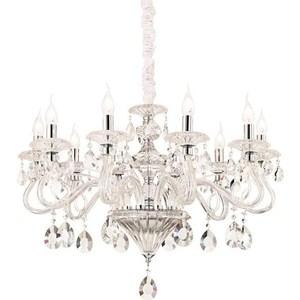 Подвесная люстра Ideal Lux Negresco SP10 Trasparente ideal lux люстра ideal lux cortina sp10