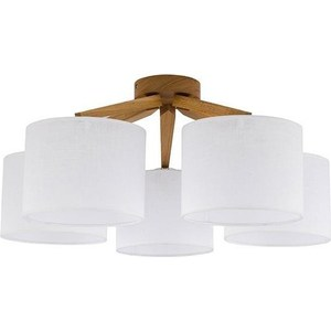Потолочная люстра TK Lighting 1753 Liccia Wood 5 цены онлайн