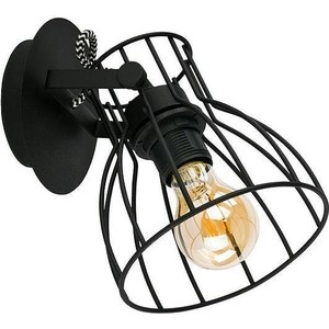 Спот TK Lighting 2120 Alano Black 1 барный стул woodville roxy бежевый