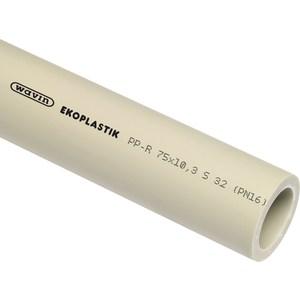 Труба EKOPLASTIK PPR S 3,2 / PN 16 / SDR 7,4 40x5,5 обвод ppr 32мм