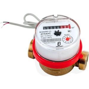 Счетчик воды ДЕКАСТ бытовой ВСКМ-15 ДГ (80 мм, кмч с ОК)