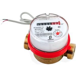 Счетчик воды ДЕКАСТ бытовой ВСКМ 90-15 ДГ (80 мм) (без кмч) lacywear dg 15 dil
