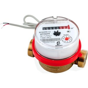 где купить Счетчик воды ДЕКАСТ бытовой ВСКМ-15 ДГ (110 мм, без кмч) дешево