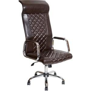 Кресло Алвест AV 136 CH (131) CX экокожа 221 шоколад компьютерное кресло алвест av 128 ch черное