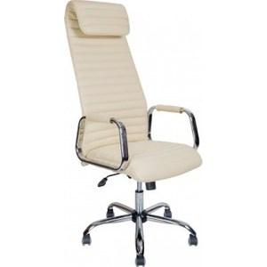 Кресло Алвест AV 131 CH (131) CX экокожа 202 слоновая кость компьютерное кресло алвест av 128 ch черное
