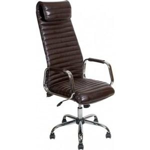 Кресло Алвест AV 131 CH (131) CX экокожа 221 шоколад компьютерное кресло алвест av 128 ch черное