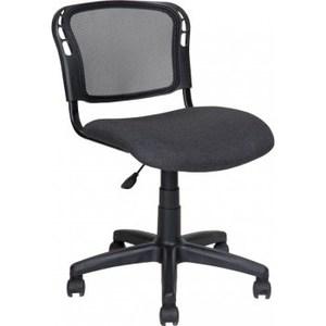 Кресло Алвест AV 221 PL ткань 417 серая/сетка 470 черная