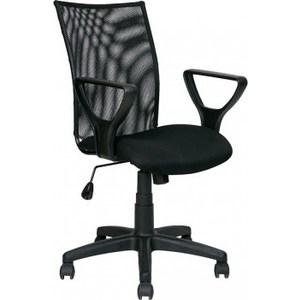 Кресло Алвест AV 216 PL (Гольф) TW - сетка/сетка односл 455/470 черная/черная