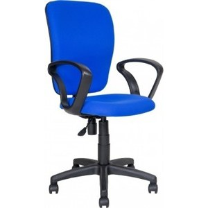 Кресло Алвест AV 202 PL (684) ткань 412 синяя