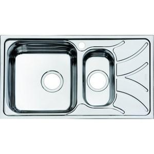 Кухонная мойка IDDIS Arro 440x780 шелк (ARR78SXi77) мойка iddis suno шелк d490 sun49s0i77