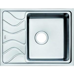 Кухонная мойка IDDIS Reeva 480x615 шелк (REE61SRi77) мойка iddis suno шелк d490 sun49s0i77