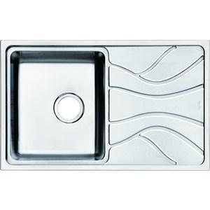 Кухонная мойка IDDIS Reeva 480x780 шелк (REE78SLi77) мойка iddis suno шелк d490 sun49s0i77