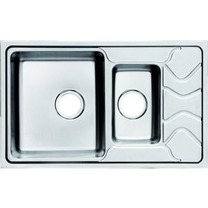 Кухонная мойка IDDIS Reeva 480x780 шелк (REE78SXi77) мойка iddis suno шелк d490 sun49s0i77