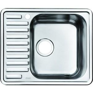 Кухонная мойка IDDIS Strit 485x585 полированная (STR58PRi77) кухонная мойка iddis strit 485x585 полированная str58pri77