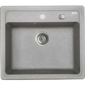 Кухонная мойка IDDIS Vane G 500x570 серый (V02G571i87) кухонная мойка iddis vane g v29s965i87 safari
