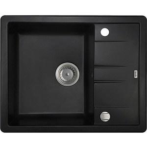 Кухонная мойка IDDIS Vane G 500x620 черный (V06B621i87) цена