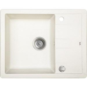 Кухонная мойка IDDIS Vane G 500x620 белый (V10W621i87)