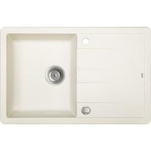Кухонная мойка IDDIS Vane G 500x780 белый (V15W781i87) мойка longran ultra uls615 500 15 47 арена