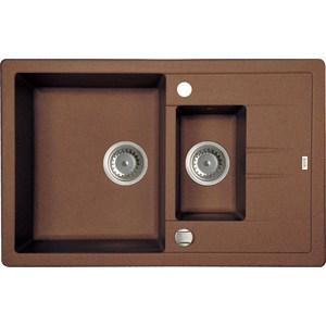 Кухонная мойка IDDIS Vane G 500x780 шоколад (V34C785i87) цена