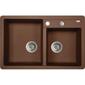 Кухонная мойка IDDIS Vane G 500x780 шоколад (V35C782i87) кухонная мойка iddis vane g 500x780 шоколад v35c782i87