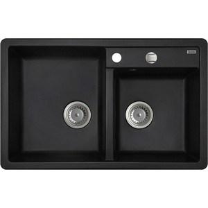Кухонная мойка IDDIS Vane G 500x780 черный (V21B782i87) iddis vane v9rs129i85