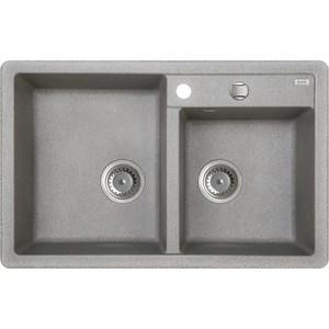 Кухонная мойка IDDIS Vane G 500x780 серый (V22G782i87) цена