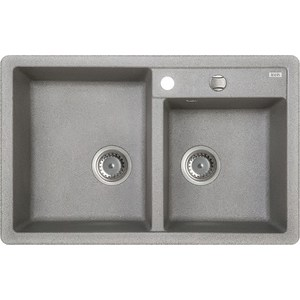 Кухонная мойка IDDIS Vane G 500x780 серый (V22G782i87)
