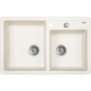 Кухонная мойка IDDIS Vane G 500x780 белый (V25W782i87) кухонная мойка iddis vane g 500x780 шоколад v35c782i87