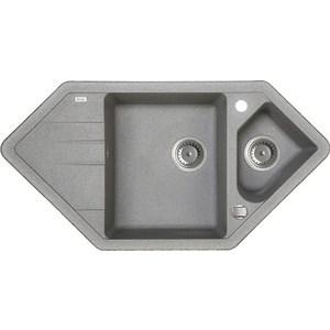 Кухонная мойка IDDIS Vane G 500x960 серый (V27G965i87) clarette конжаковый спонж с бамбуковым углем для лица