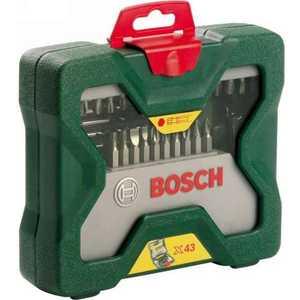 Набор бит и сверл Bosch 43шт X-Line (2.607.019.613) 1 8 lcd portable jewelry digital pocket scale 500g 0 1g 2 x aaa