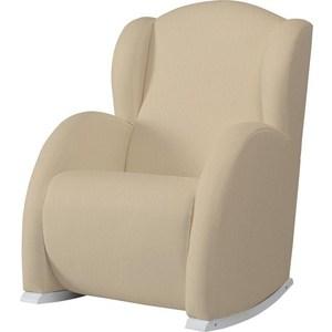 Фотография товара кресло-качалка Micuna Wing/Flor white/honeycomb beige (Э0000015020) (735780)