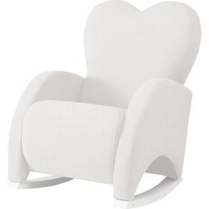 Кресло-качалка Micuna Wing/Love white/white искусственная кожа (Э0000017780) asled white