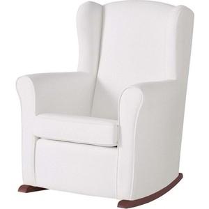 Кресло-качалка Micuna Wing/Nanny chocolate/white искусственная кожа (Э0000016231) бескаркасное кресло папа пуф cocoon chocolate