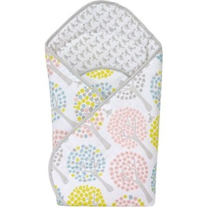Одеяло-конверт Ceba Baby Magic Tree pink принт W-810-072-130 (Э0000016392) одеяло для cocoonababy quilted cocoonacover pink poudre 0449164