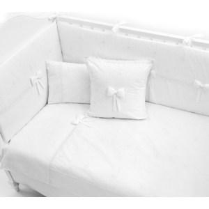 Постельное белье Fiorellino Premium Baby 5 предметов 125*65 белый (Э0000012789) колыбели fiorellino корзина плетёная с капюшоном premium baby