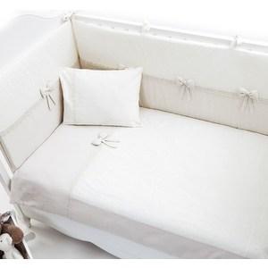Постельное белье Fiorellino Premium Baby 5 предметов 125*65 крем (Э0000012790) колыбели fiorellino корзина плетёная с капюшоном premium baby