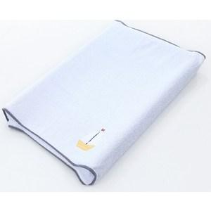 Простынь Ceba Baby на резинке на пеленальный матрасик 50x80 см Marine blue W-821-010-161 (Э0000017048)