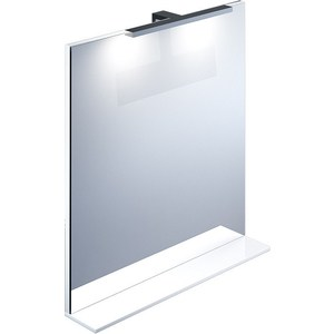 Зеркало IDDIS Custo 700 с подсветкой (CUS70W0i98) зеркало iddis custo 700 мм белое