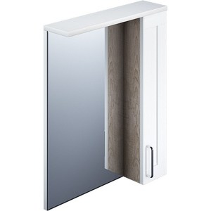 Зеркальный шкаф IDDIS Sena 600 с подсветкой (SEN6000i99) смеситель iddis sena sensb00i01