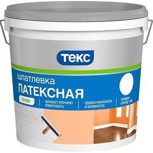 Шпатлевка готовая ТЕКС латексная профи 16кг.