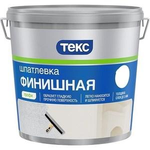 Шпатлевка готовая ТЕКС латексная финишная выравн. профи 8кг. шпатлевка финишная maxi dulux 10 л