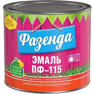 Эмаль ТЕКС ФАЗЕНДА ПФ-115 бежевая 20кг. эмаль пф 115 цвет кофе с молоком а пензе