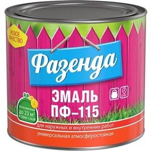 Эмаль ТЕКС ФАЗЕНДА ПФ-115 красная 20кг. эмаль пф в уфе