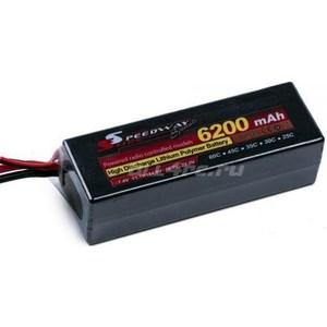 все цены на Аккумулятор SpeedWay Slide Li-Po Hard case 11.1В 6200мАч 60C with Deans to Banana Connector онлайн