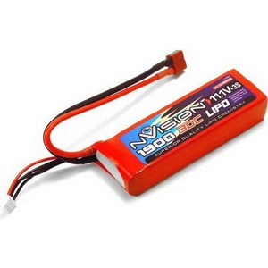 Аккумулятор nVision Li-Po 11.1В 3S 30C 1900мАч 1pcs lion power 2s 7 4v 5200mah 30c lipo battery pack for rc car buggy monster truck backup li po battery