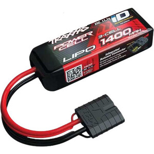 Аккумулятор TRAXXAS 1400мАч 11.1В 3 Cell 25C Li-Po Battery (iD Plug) аккумулятор traxxas 2200мач 7 4в 2 cell 25c li po battery id plug