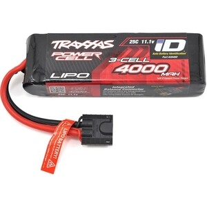 Аккумулятор TRAXXAS 4000мАч 11.1В 3 Cell 25C Li-Po Battery (iD Plug)
